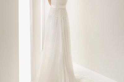 Seksowne suknie ślubne z koronkowymi plecami