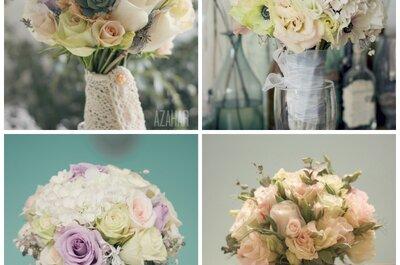 Ideas para elegir el ramo de novia
