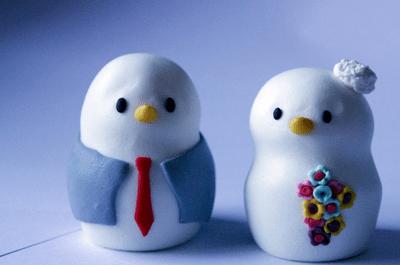 Os mais bonitos bonecos para o seu bolo de casamento!