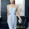 Hochzeitsgastkleid aus der Festmodenkollektion 2015 von Rosa Clará (8T251)