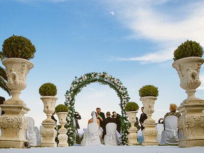Il Castello Borghese, il tuo matrimonio da favola a Roma tra verde e mare