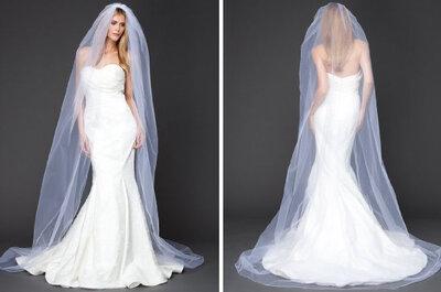 Cuáles son los tipos de velo de novia largo y cómo escogerlos