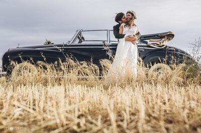 El vestido de novia de su madre: la boda de Patricia y Gonzalo