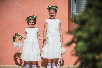 Fabio e Francesca, un matrimonio immerso nel verde, con un tocco glamour