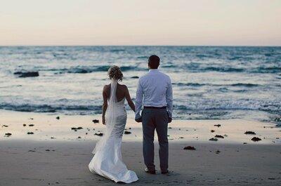 Una boda de inspiración marinera