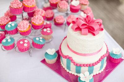 Inspiración: cupcakes personalizados para tu boda