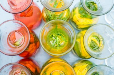 7 frisse drankjes om op je bruiloft te serveren!
