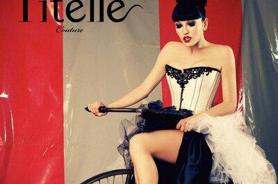 Titelle Couture : des robes de mariée 2012 hautes en couleur et en originalité