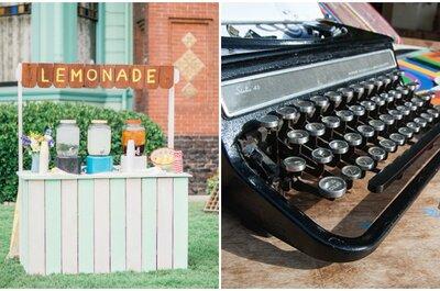 Objetos de lo más curiosos que no deben faltar en la decoración de tu boda en 2016