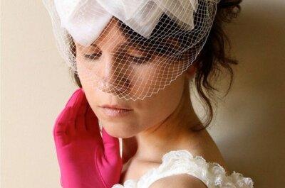 Je veux un chapeau rétro pour mon mariage !