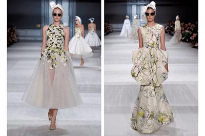 Detalles mágicos en tul, volúmenes y flores multitono: Así es la colección alta costura otoño 2014 de Giambattista Valli