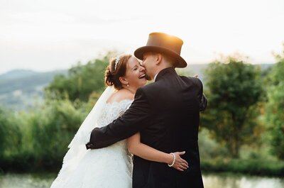 Farbenfrohe Hochzeit in Lauertal: Detailverliebt verwirklichten Fanny & Dominik ihre Traumhochzeit!