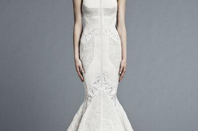 Suknie ślubne z kolekcji J. Mendel