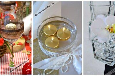Les 8 accessoires de décoration de table qui mettront votre thème de mariage en valeur