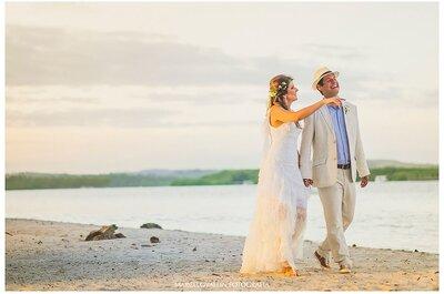 Casamento em cenários com água: tendência absoluta em 2017!