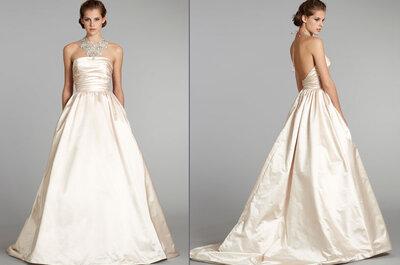 Kolekcja sukien ślubnych Lazaro, jesień 2012