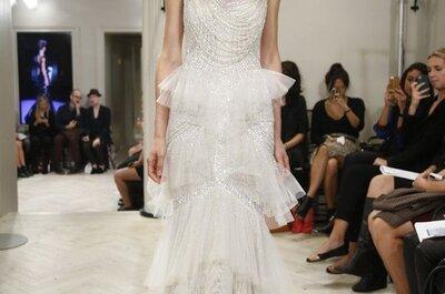 Tu declaración de moda: Vestidos de novia con joyas incorporadas