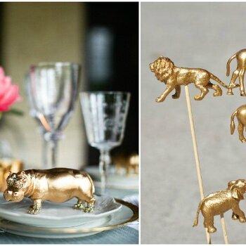 Tendencia DIY: Mini animales como protagonistas en tu boda