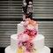 Muñequitos de los novios para el pastel de boda