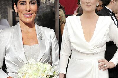 Vestidos de casamento para noivas com mais idade