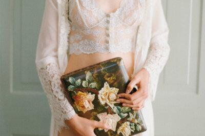 Lingerie para noiva: vista-se de Claire Pettibone por fora e por dentro