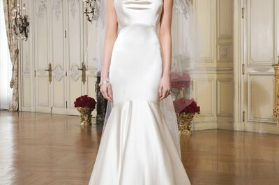 Vestidos de novia 2015 para mujeres delgadas