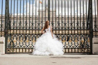 Carol Hungria e Zankyou: Madri é palco da nova coleção dos vestidos de noiva 2015