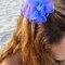 Tocado azul. Foto: Nuez Moscada