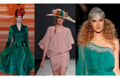 Turbantes y sombreros, la nueva forma de presumir tu estilo en las bodas 2015
