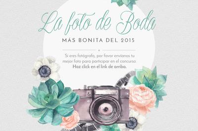 Participa en el concurso por la mejor foto de boda 2015