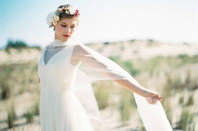 Cómo elegir los accesorios para el cabello de la novia: consejos y diseños para tu boda