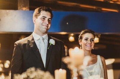 Lele en William: romantiek en vreugde op een bruiloft in Rio de Janeiro
