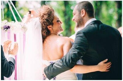 Il matrimonio in Radiant Orchid di Sabina e Thomas