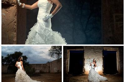 Sesión Glam the Dress en Mineral de Pozos, Guanajuato