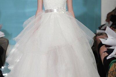 Vestidos de novia estilo princesa con faldas de tul para el 2013