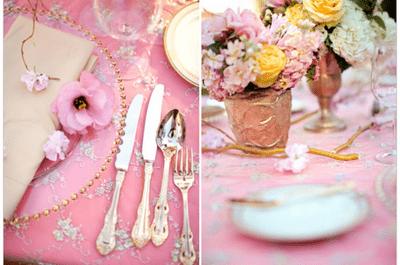 6 couleurs tendances pour la décoration de mariage 2014