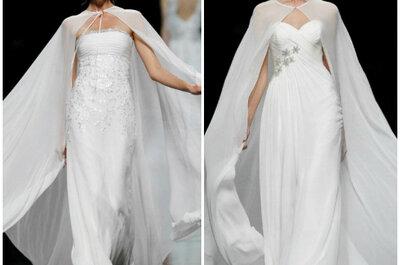 A capa: o acessório do momento para as noivas de inverno