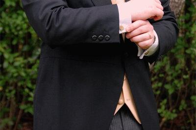 Todo lo que debes saber sobre el alquiler del chaqué del novio