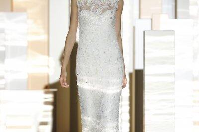 Die Weiblichkeit der Braut – die Miquel Suay Brautmoden-Kollektion 2015
