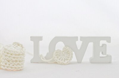 DIY: corações de crochet para decorar o seu casamento