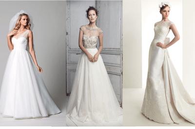 8 estilos de cauda para tu vestido de novia