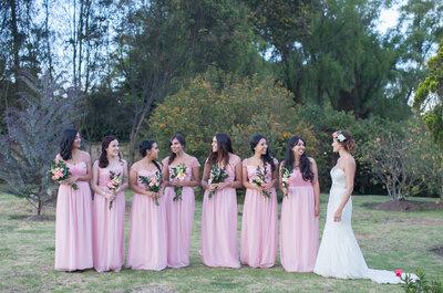 Damas de honor, ¡atentas!: 10 cosas que la novia les puede pedir y no podrán rechazar