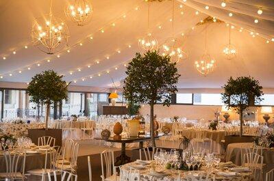 Una boda de ensueño en un espacio único y rodeado de naturaleza