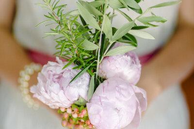 Bouquets minimilistas: requinte e bom gosto no seu casamento!