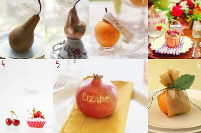 Nozze tutti frutti! Ecco come utilizzare la frutta per decorare il tuo matrimonio
