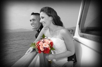 Hochzeit zu Wasser: lassen Sie sich auf einem Boot trauen!