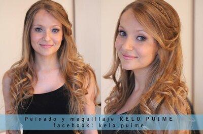 Tip Básico para un Peinado de Novia perfecto, por Kelo Puime