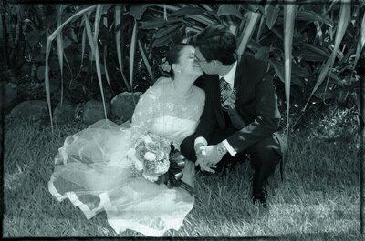 Novios Zankyou: una boda en el Valle del Cauca