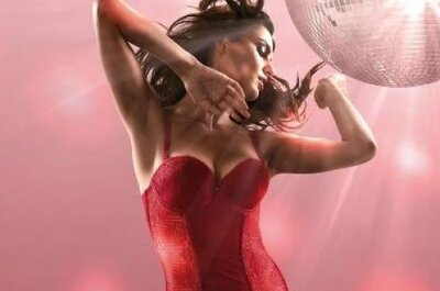 Los corsés sexy para la noche de bodas 2013