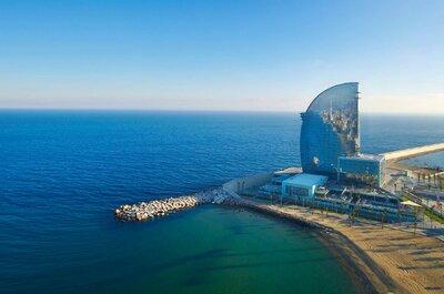 W Barcelona: celebra una exclusiva boda con vistas a la playa en Barcelona